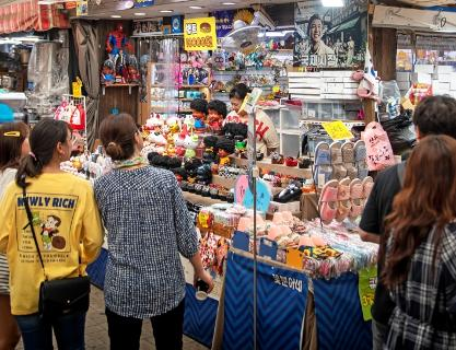 Gukje Market bustling with energy